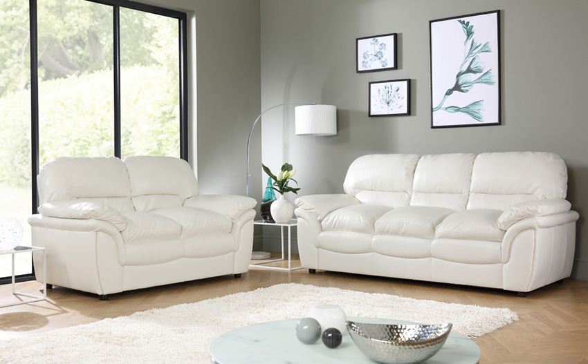 Sofa. fancy white leather sofas 2017 collection: white-leather-sofas
