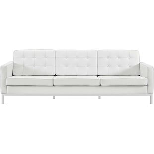 The uniqueness of a white leather sofa – CareHomeDecor