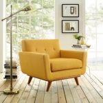 Yellow living room chairs for   a fresh look to your living room